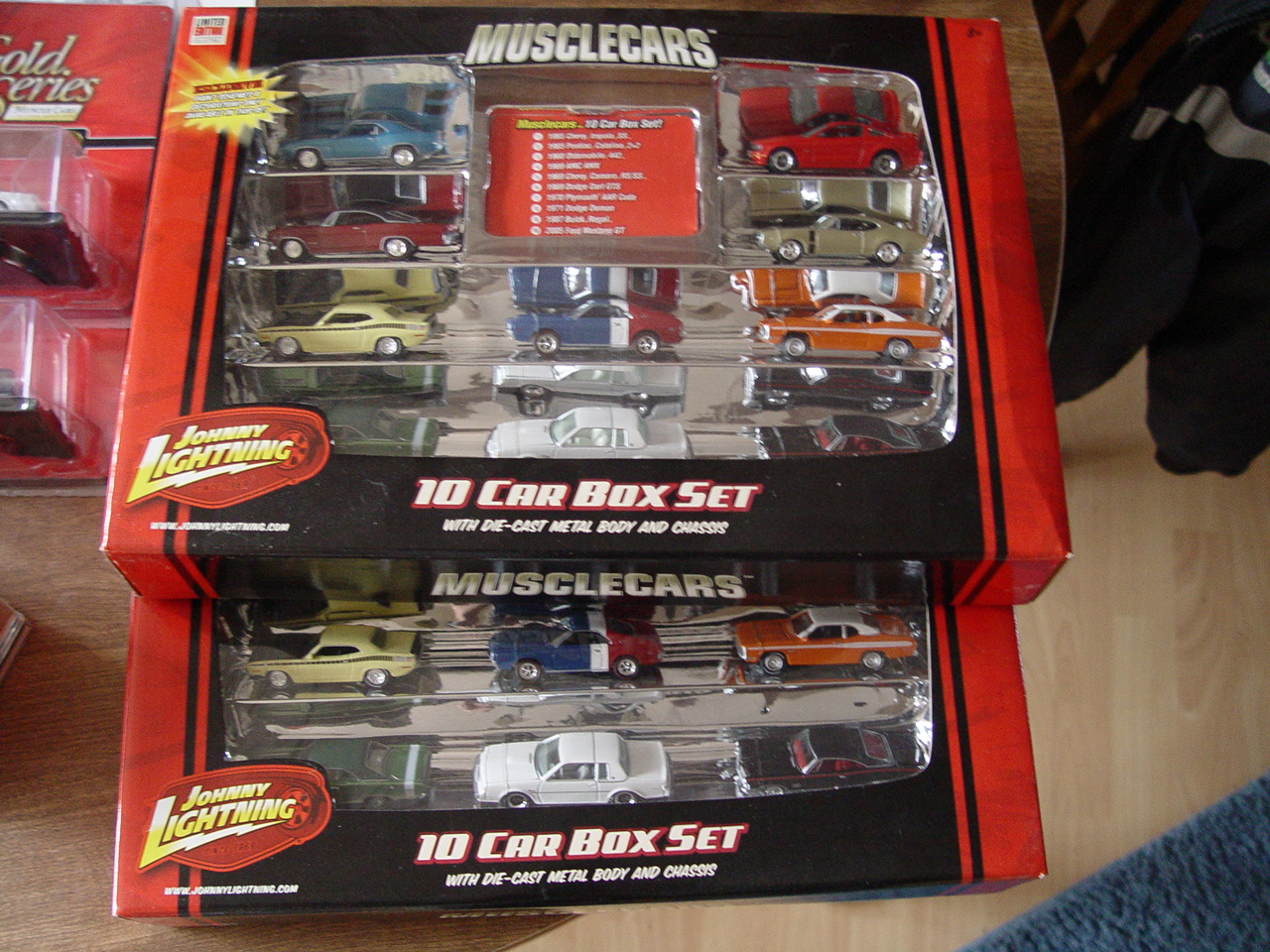Lightning Muscle Cars Car Box Set