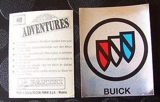 buick logo sticker