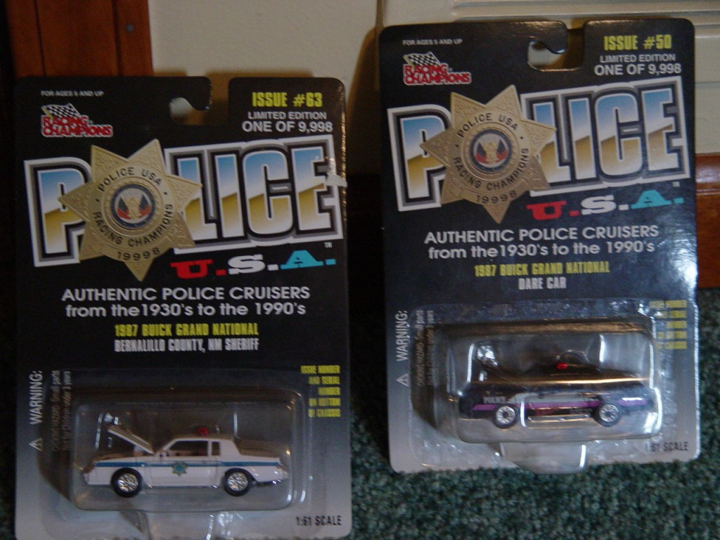 RC police buick gn