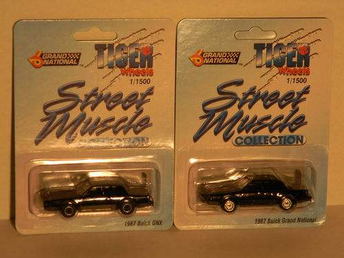 Tiger Wheels 1987 Buick Grand National GNX
