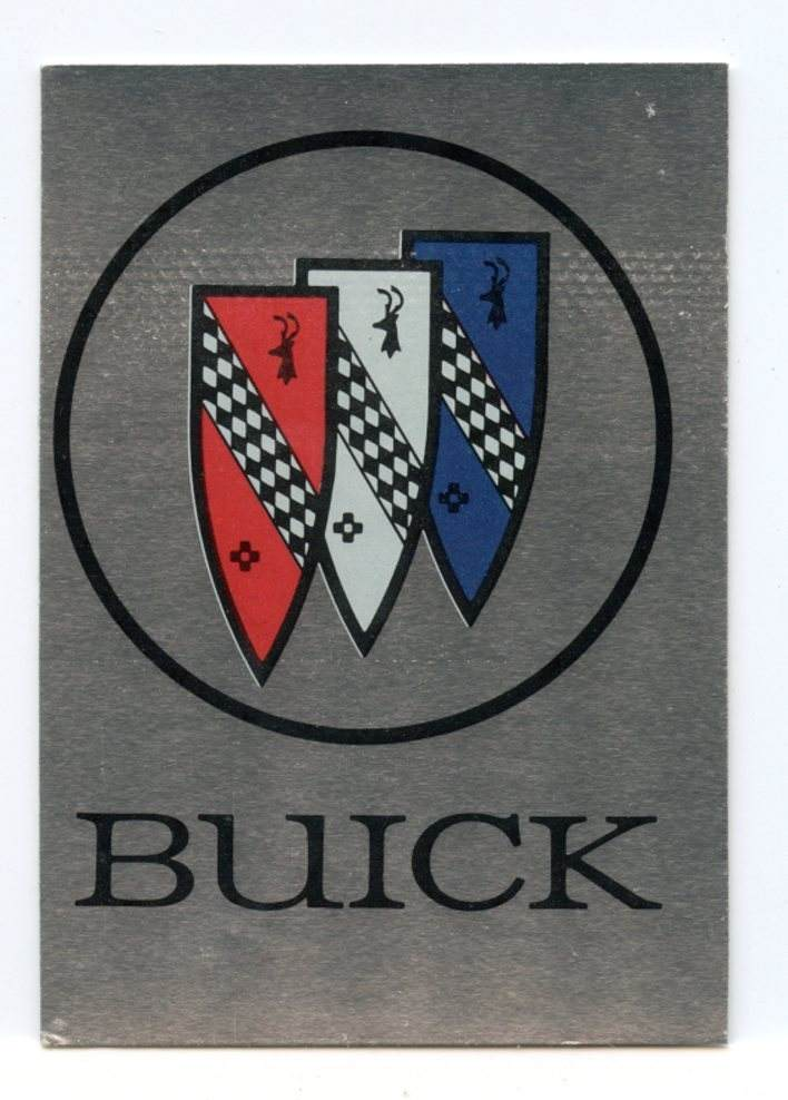 Autos of 1977 Buick Sticker