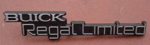 buick regal limited dash emblem