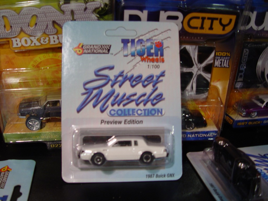 tiger wheels white buick gnx