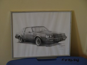 buick gnx stiple print