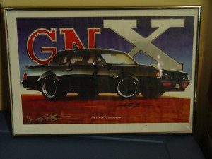 buick gnx artwork