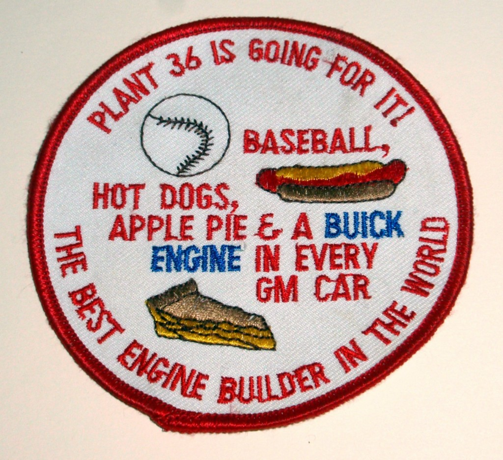 buick plant 36 patch