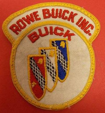 rowe buick patch