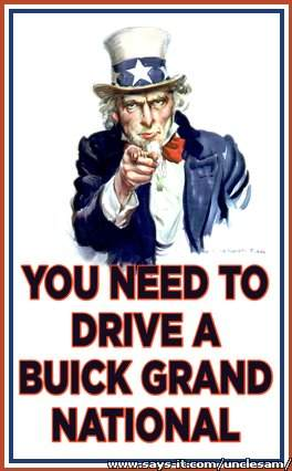 uncle sams buick GN