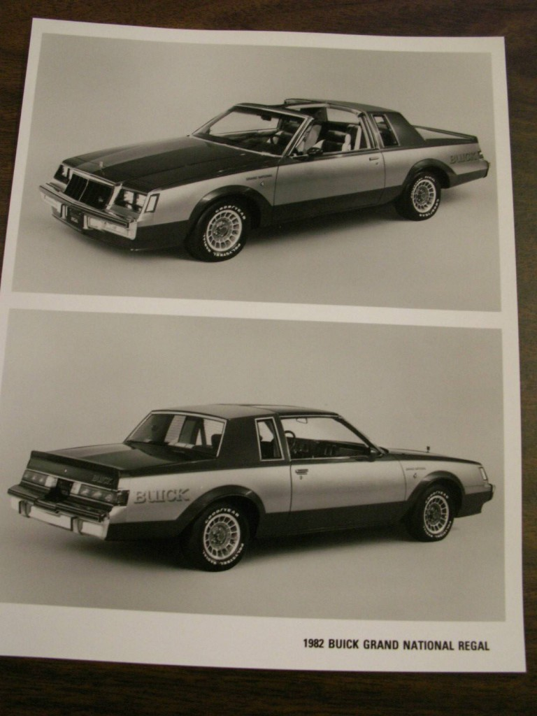 1982 buick press kit 3