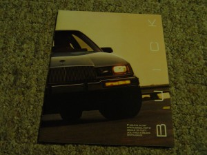 1986 buick book