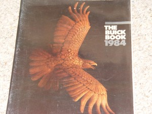 the buick book 1984