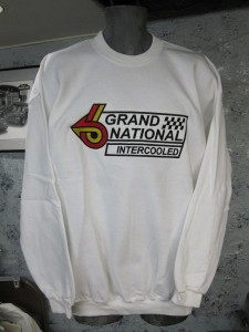 buick Grand National logo sweat shirt