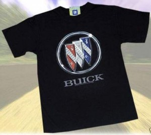 buick tri shield black t-shirt
