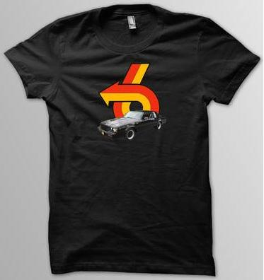 car and turbo 6 logo shirt