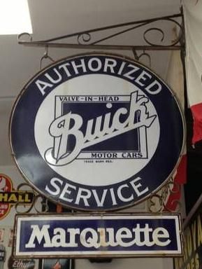 1930s buick dealership sign
