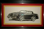 Buick Grand National Drawings Prints Pictures