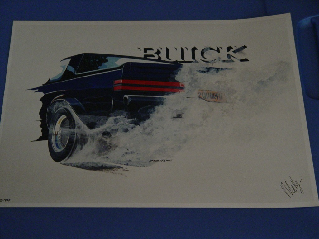 1990 limited edition buick print