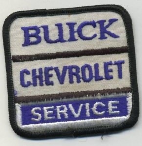 Buick Chevrolet Service Patch