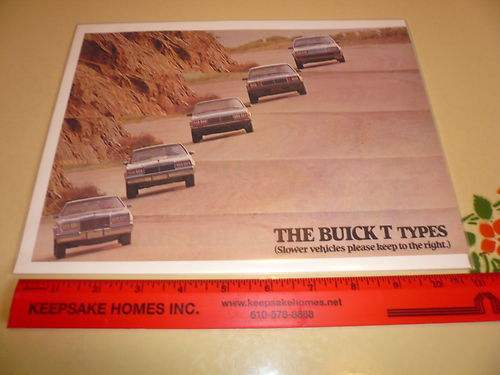 Buick T Types Ad