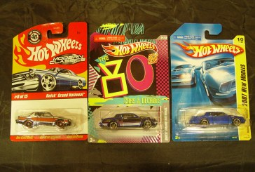 Hot Wheels Buicks: Modern Classics, Cars of The Decade & Kmart Exclusive