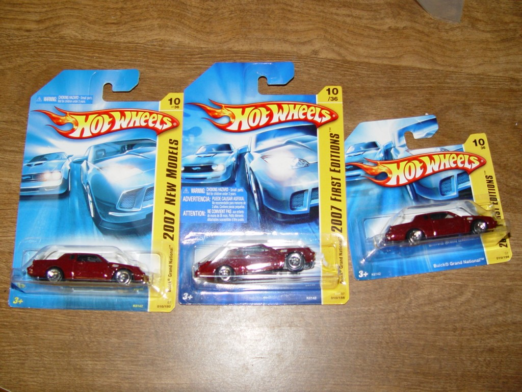 hot wheels red buick grand national