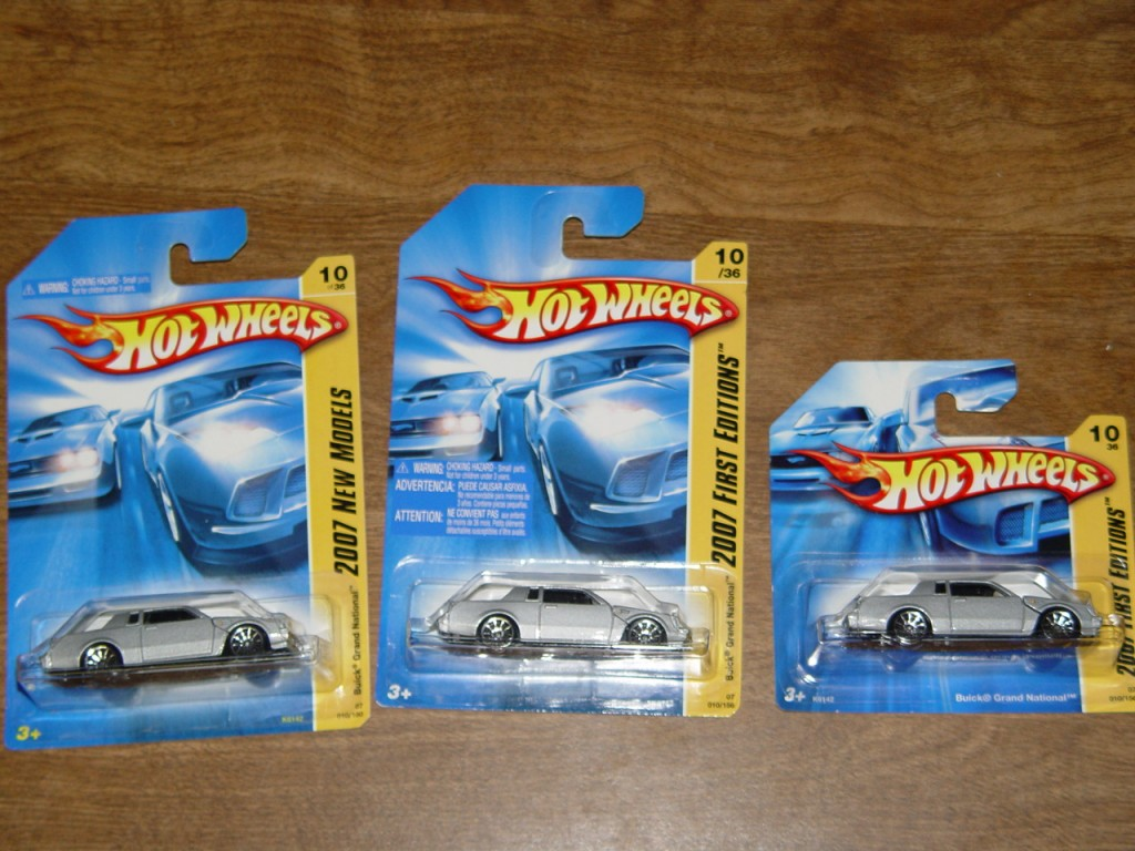 hot wheels silver buick grand national
