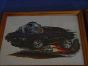 buick grand national hot rod print