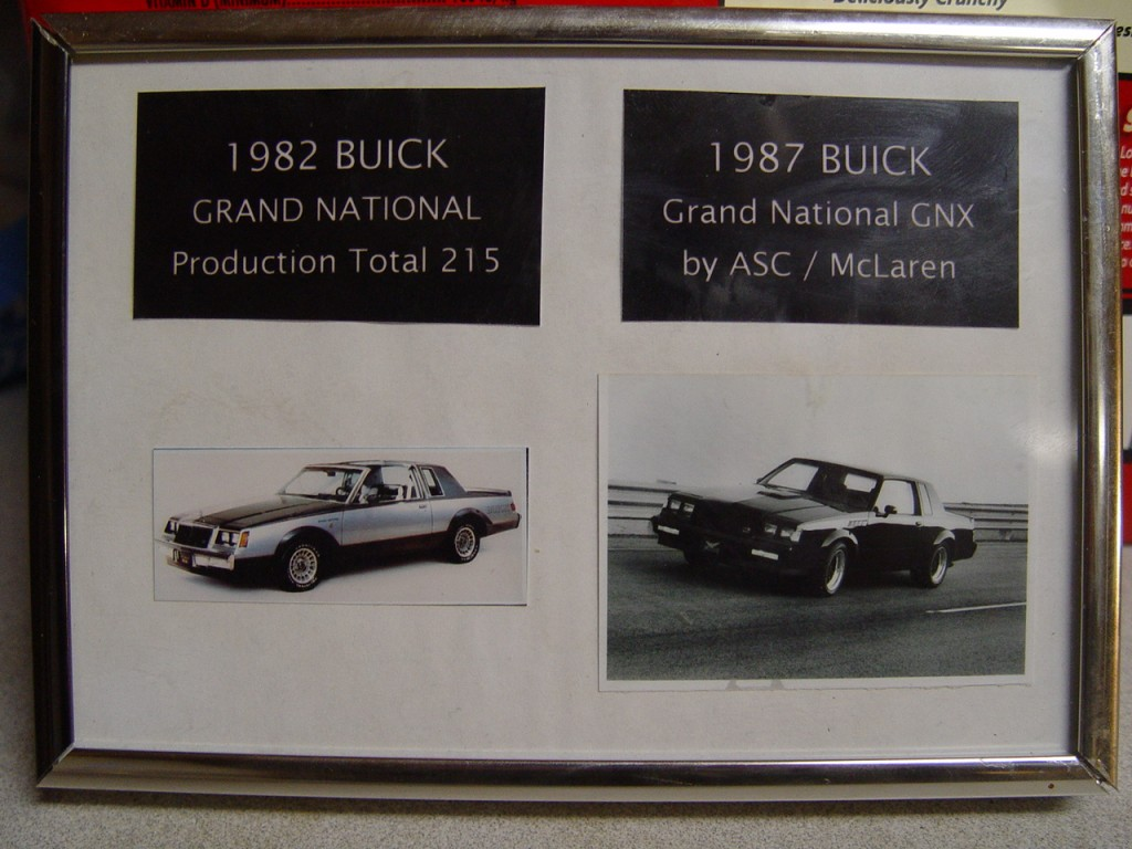 1982 Buick Grand National & 1987 Buick GNX