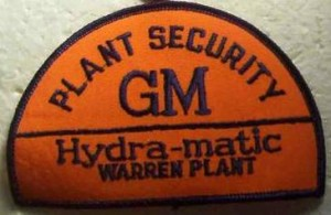 GM Hydra-matic plant security