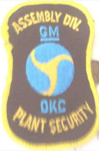GM OKC assembly division plant security