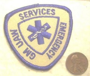 GM UAW Emergency Services Patch