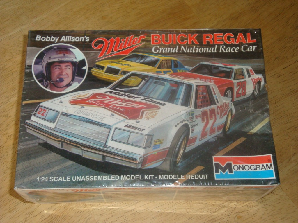 Monogram Bobby Allison Miller Buick Regal Model Kit