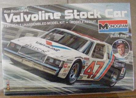 Monogram Valvoline Buick Regal Stock Car
