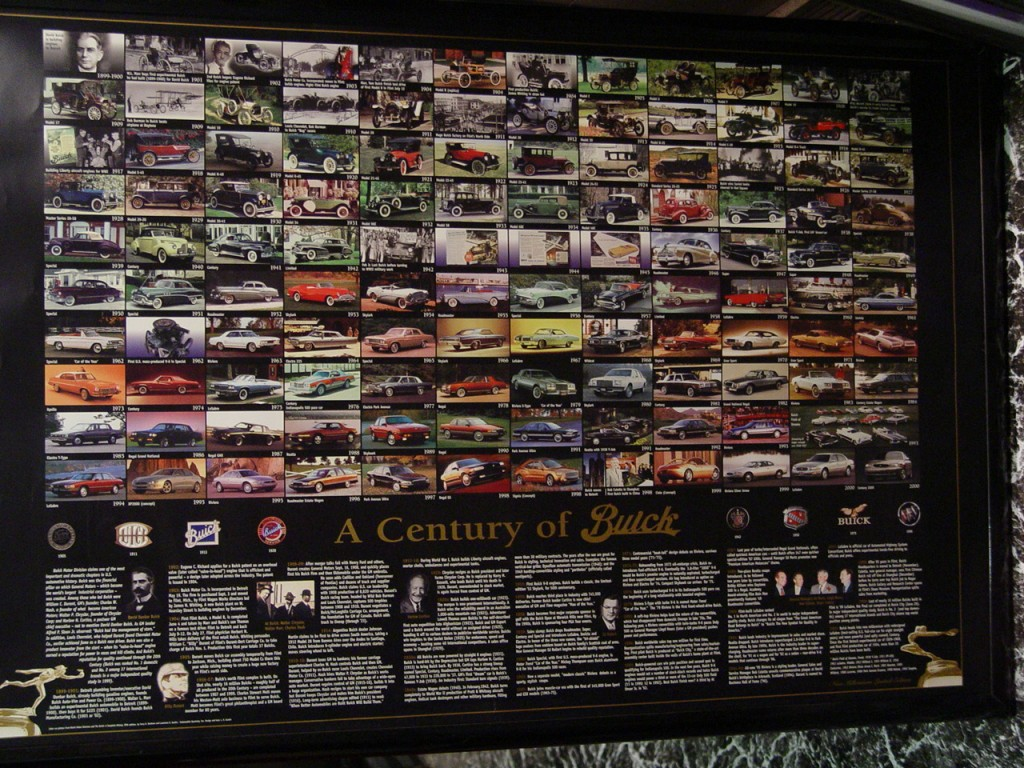 a century of buick poster