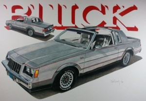 82 Buick GN logo