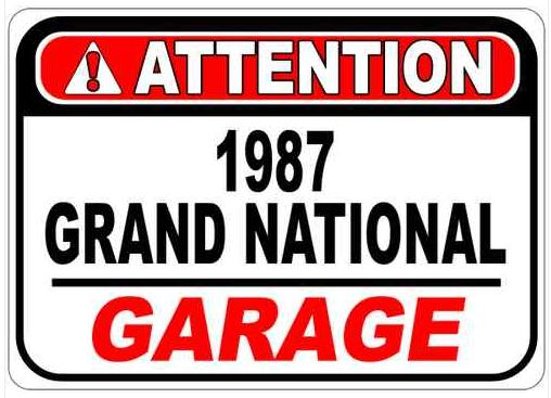 buick attention sign
