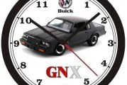 Buick Grand National Wall Clocks