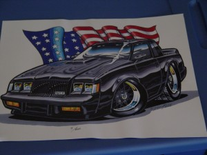 buick grand national limited print