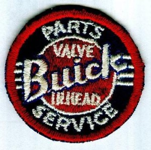 buick twill embroidered patch
