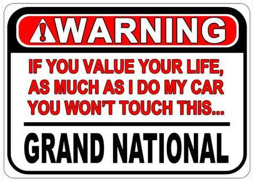 buick warning sign