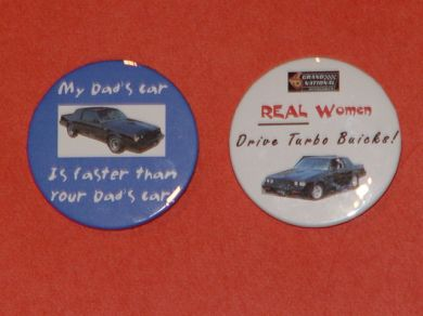 buick regal buttons
