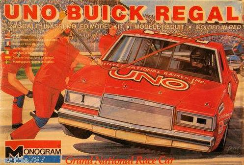 monogram uno buick regal model kit