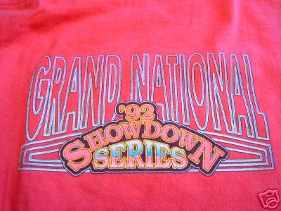 92 buick racing showdown shirt