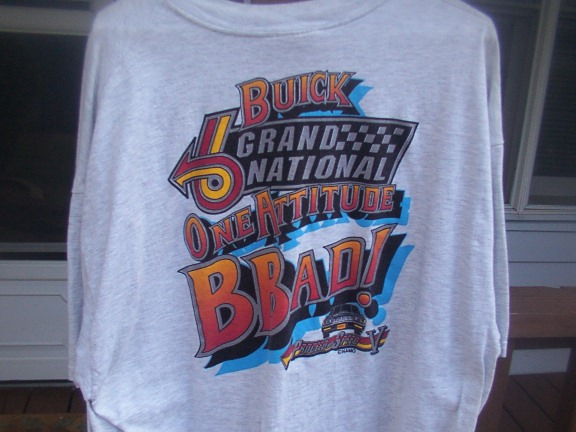Killer Buicks shirt back