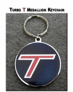 Turbo T Keychain