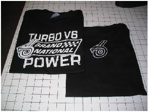 Turbo Power shirts