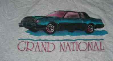another buick gn shirt