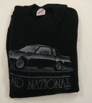 black buick sweatshirt