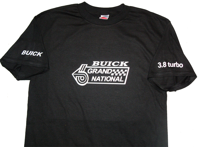 buick 3.8 turbo shirt