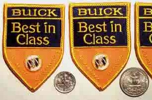 buick best in class patches